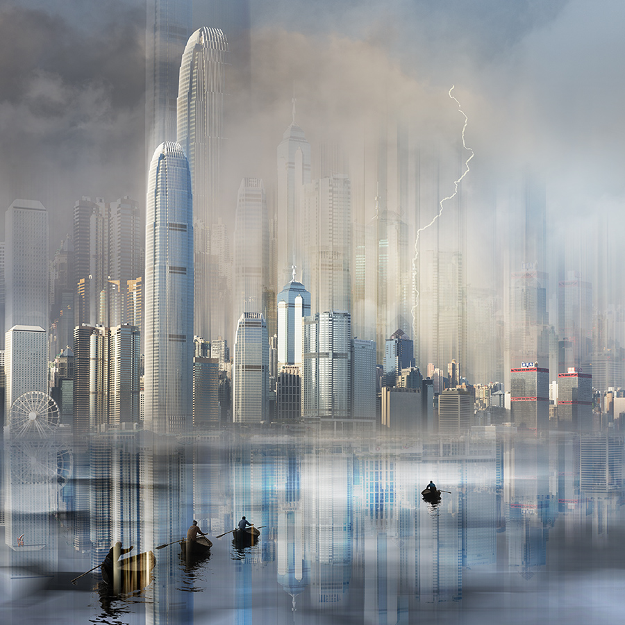 Impression urbaines : Hong-Kong