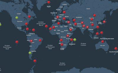 Printemps 2020 : mise en ligne d'un planisphère…
