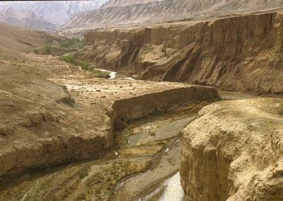 Turfan paysage