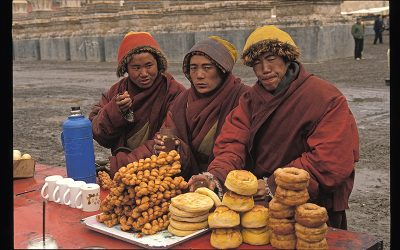 TIBET / les monastères