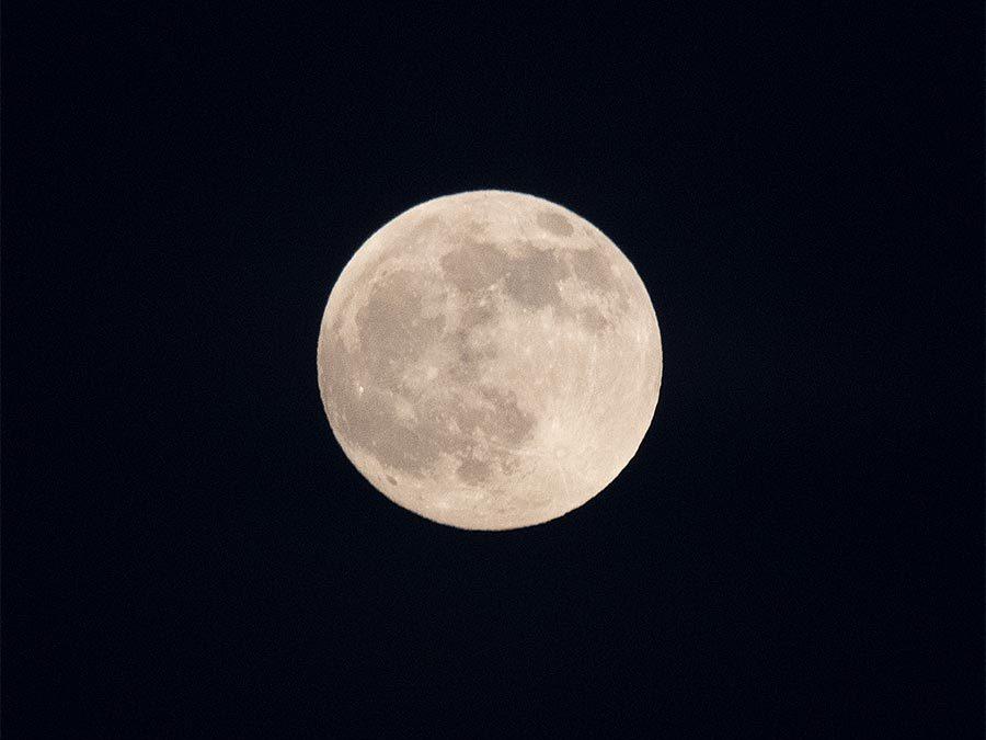 automne 2020 : La lune, magique…
